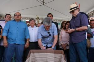 Governo autoriza construção de obras que vão levar água tratada para moradores de Rio Tinto