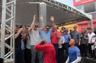 Segurança hídrica: governador entrega adutora que reforça abastecimento d'água de Pilões