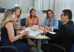 Núcleo de Conciliação do TJPB e OAB definem mutirão da Cagepa no bairro de Mangabeira