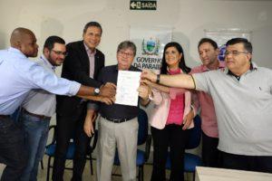Governador autoriza início das obras da segunda etapa da Adutora Translitorânea
