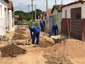 Presidente da Cagepa inspeciona obras de ampliação sistema de abastecimento de Pombal